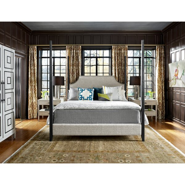 Midtown Upholstered Four Poster Bed by Universal Furniture