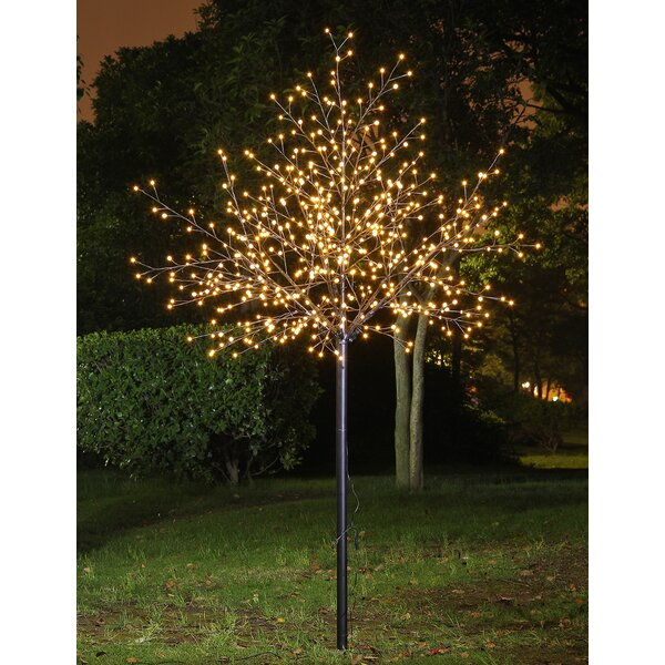 LED 600 Light Frosted Ball City Tree by Lightshare