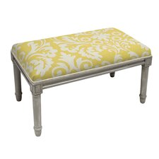 Upholstered Entryway Bench by 123 Creations