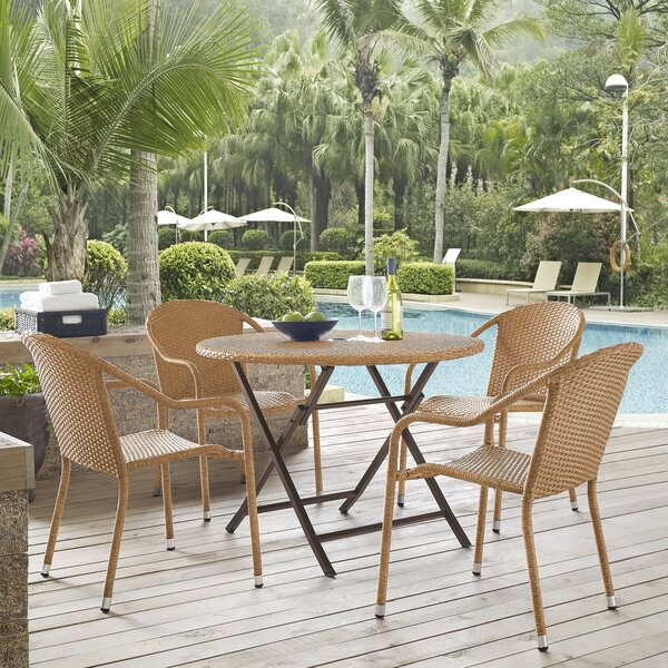 Brandy 5 Piece Dining Set by Mistana