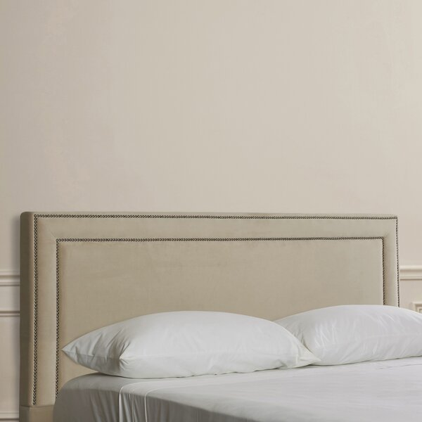 Wabanaki Upholstered Panel Headboard by Charlton Home