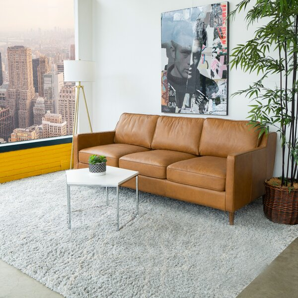 Premium Buy Deirdre Leather Sofa by Corrigan Studio by Corrigan Studio