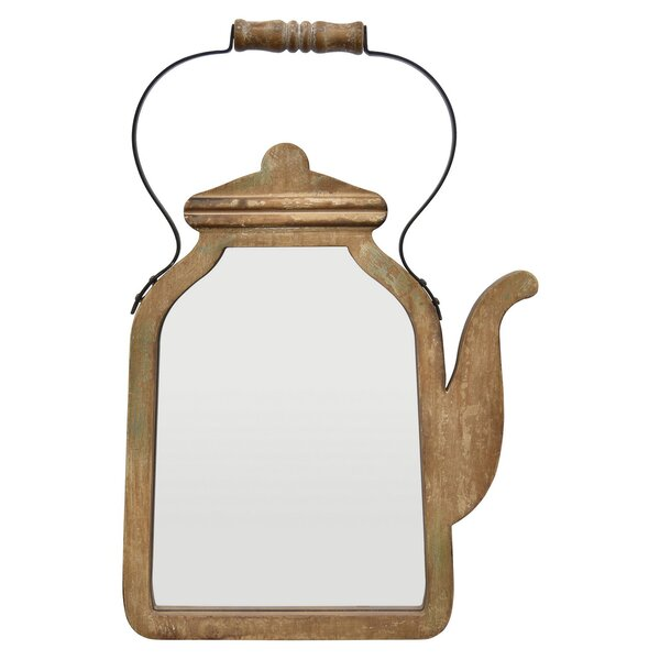 Pinney Coffee Pot Accent Mirror by Winston Porter