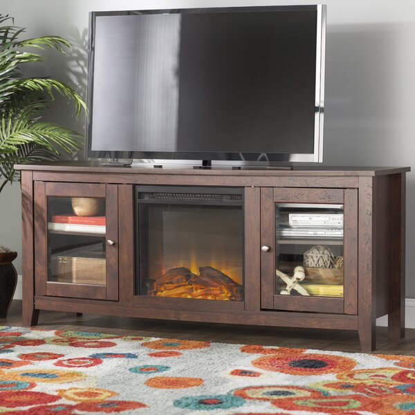 Inglenook TV Stand for TVs up to 60 with Fireplace by Andover Mills