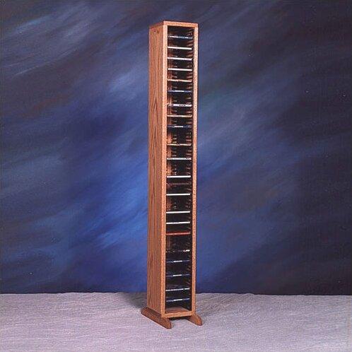 100 Series 80 CD Multimedia Storage Rack by Wood Shed