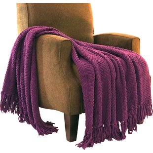 Purple Blankets Throws