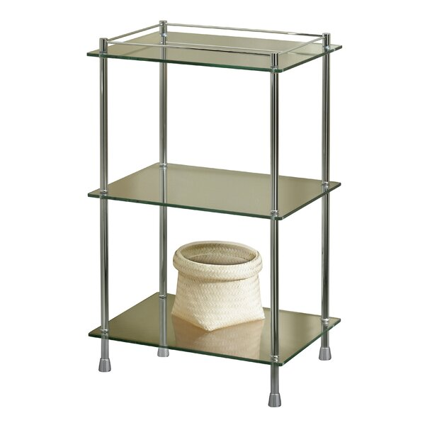 Essentials 18 W x 30.5 H Bathroom Shelf by Valsan