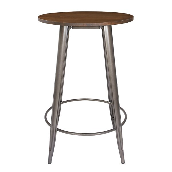 Isaac Round Pub Table by Laurel Foundry Modern Farmhouse