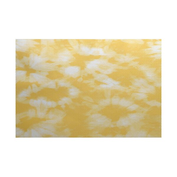 Pembrook Yellow Indoor/Outdoor Area Rug by Bay Isle Home