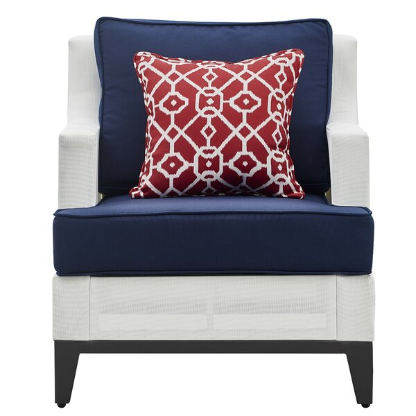 Hampton Patio Chair with Cushion by Tommy Hilfiger Tommy Hilfiger