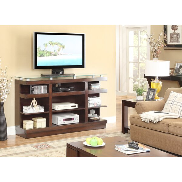 Emanuel Solid Wood TV Stand for TVs up to 70