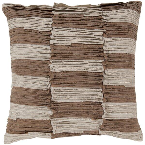Maolis Rustic Ruffle Cotton Throw Pillow by Union Rustic