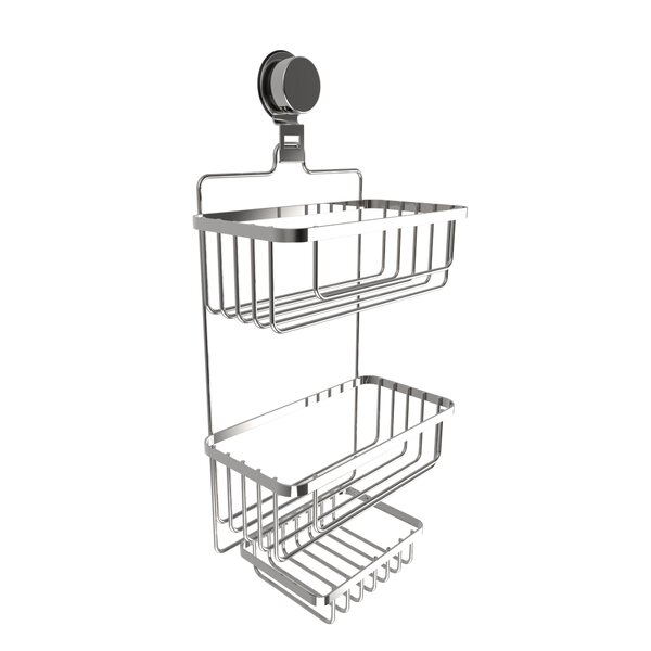Wall Mounted 3 Tier Shower Caddy by Rebrilliant
