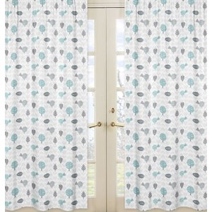Earth and Sky Curtain Panels (Set of 2)