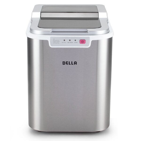 26 lb. Daily Production Portable Ice Maker by Della