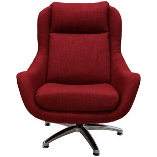 Best Linda Swivel Lounge Chair By Latitude Run