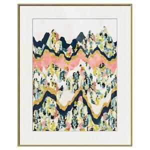 Jeweled Terrain Framed Print by Imagekind