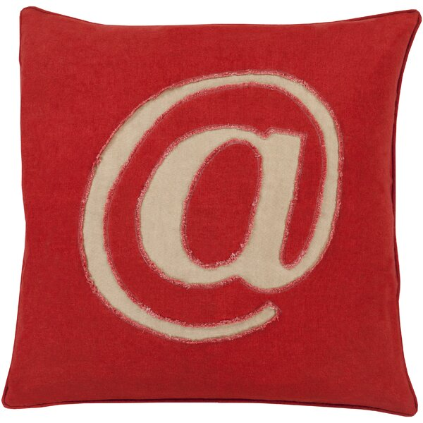 Griffith Linen Text Throw Pillow by 17 Stories