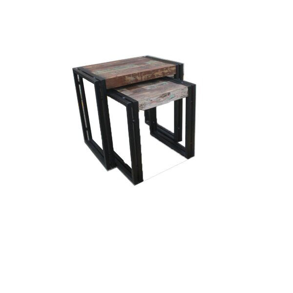 Norita 2 Piece Nesting Tables by Bungalow Rose