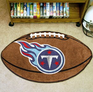 NFL - Tennessee Titans Football Mat by FANMATS