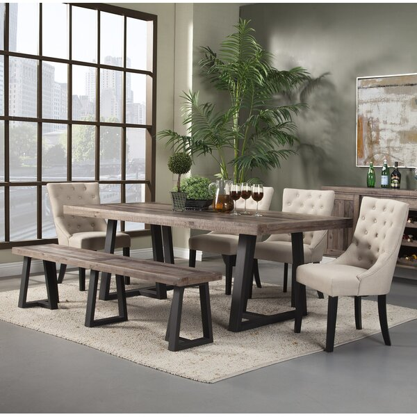 #1 Stephen 6 Piece Dining Set By Modern Rustic Interiors Wonderful