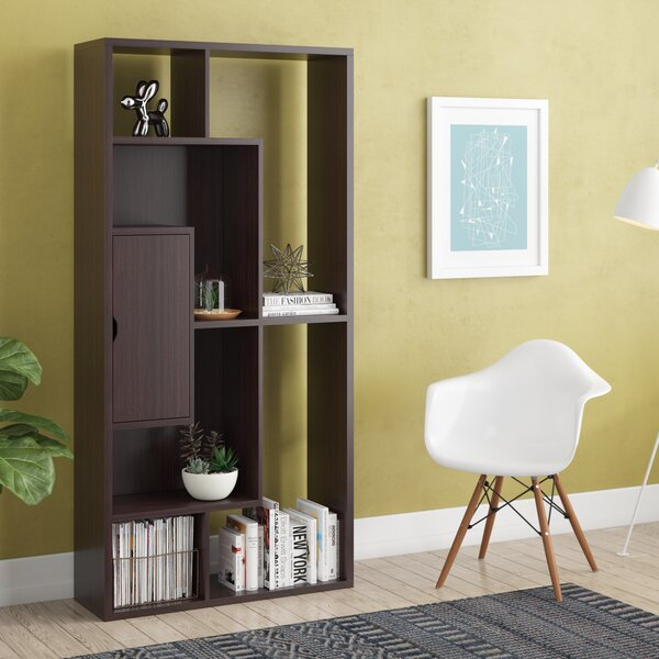 Henke Geometric Bookcase By Brayden Studio