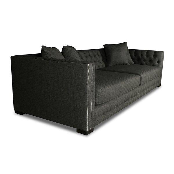 Best #1 Estevez Plush Deep Sofa By Darby Home Co Amazing