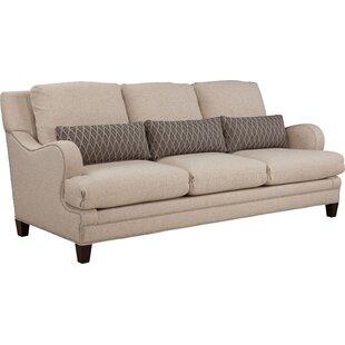 Layered Back Shaped English Arm Sofa