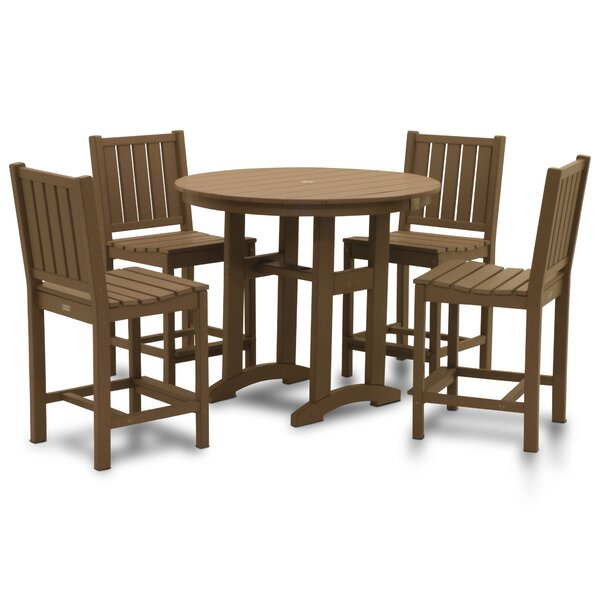 Osborn 5 Piece Bar Height Dining Set by August Grove
