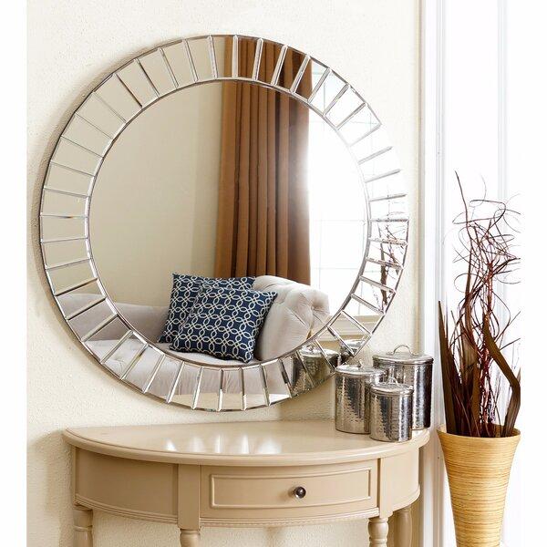 Avanley Round Accent Mirror by Rosdorf Park