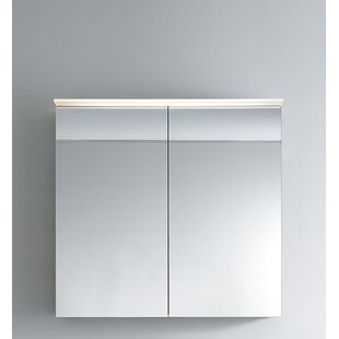 Delos 29 88 X 31 5 Surface Mount Medicine Cabinet With Led Lighting By Duravit