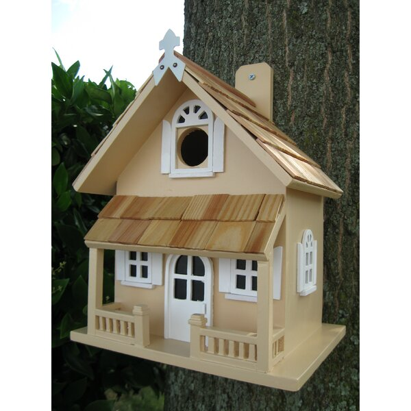 Victorian Cottage 10.5 in x 8.5 in x 6.5 in Birdhouse by Home Bazaar