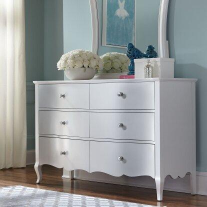 Yardley 6 Drawer Double Dresser by Viv + Rae