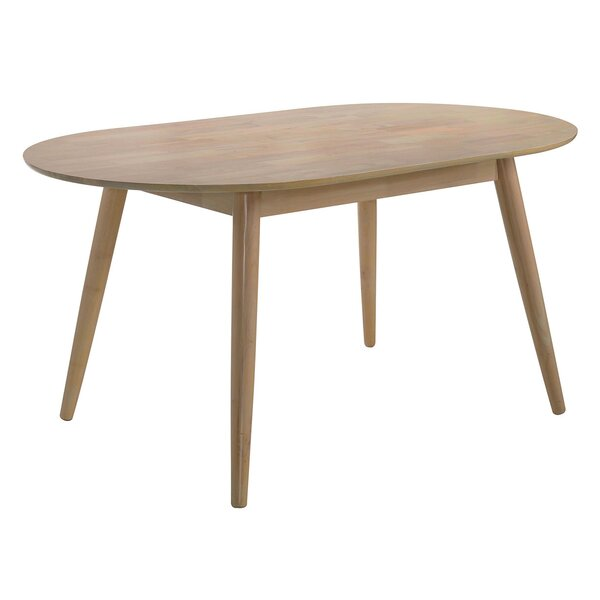 Brilliant Solid Wood Dining Table by George Oliver