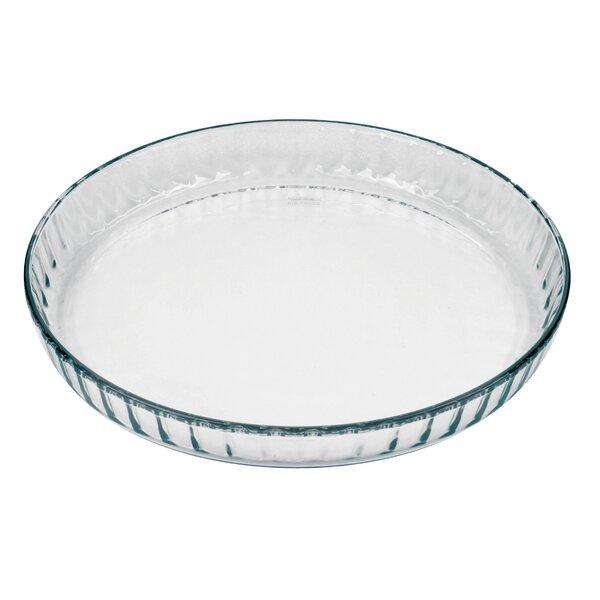 Flan/Quiche Fluted Dish by Marinex