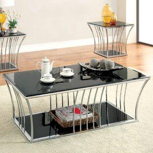 Bargain Villaine 2 Piece Coffee Table Set ByHokku Designs
