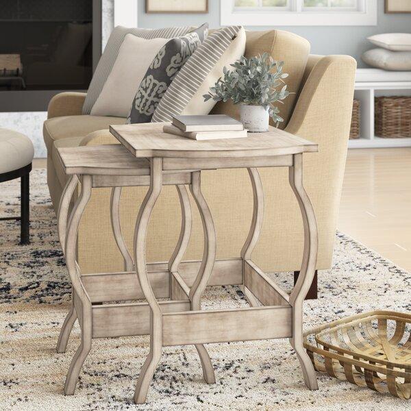 Onida 2 Piece Nesting Tables By Birch Lane™ Heritage