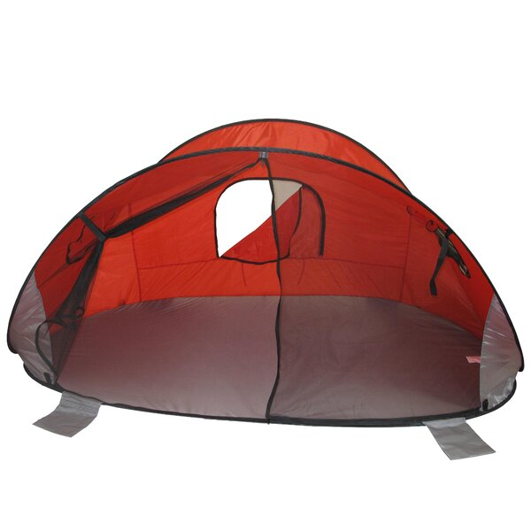 Beach Baby® Family Size Pop-Up Shade 5 Person Tent by Redmon for Kids
