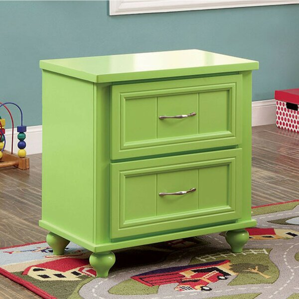 Kerlin 2 Drawer Nightstand by Zoomie Kids
