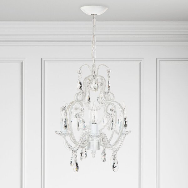Alida 4-Light Candle Style Chandelier by House of Hampton