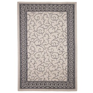 Vine Beige/Black Indoor/Outdoor Area Rug By Plymouth Home