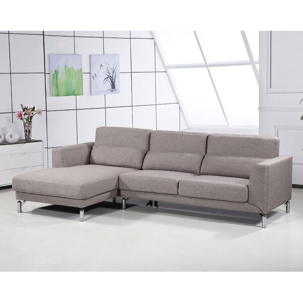 Last Trendy Robertson Sectional by Wrought Studio by Wrought Studio