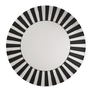 OSP Designs Decorative Round Wall Mirror