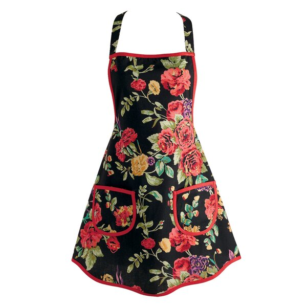 Wild Rose Vintage Apron by Darby Home Co