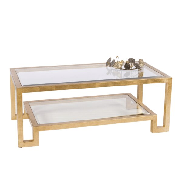 2 Tier Coffee Table by Worlds Away