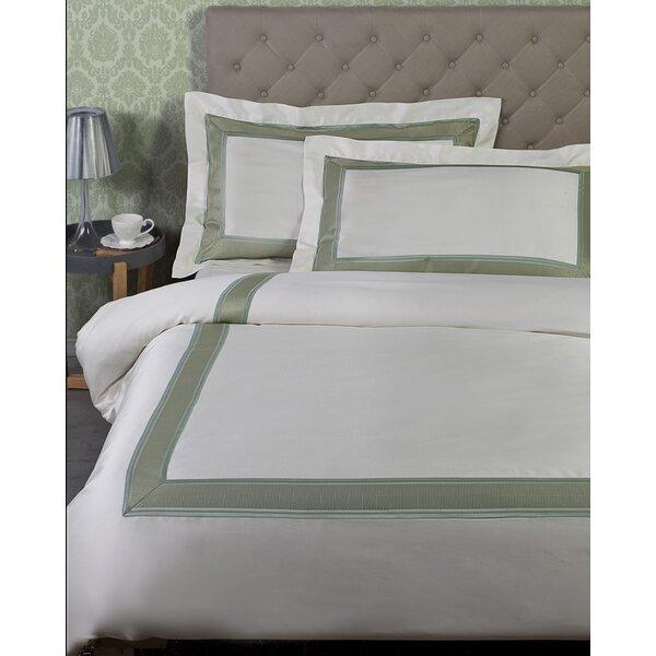 Hardenburgh 100% Cotton 3 Piece Duvet Cover Set