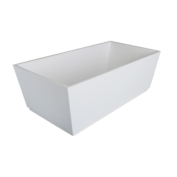 Spartan 60 x 30 Freestanding Soaking Bathtub by Clarke Products