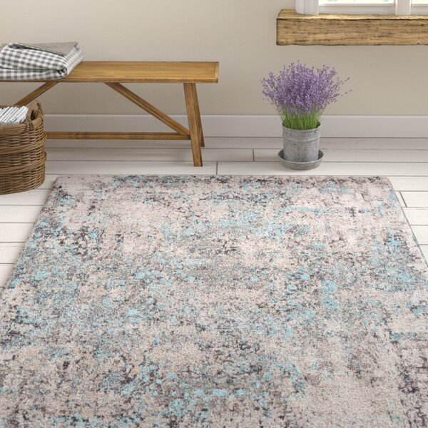 Rummond Blue/Gray Area Rug by Ophelia & Co.