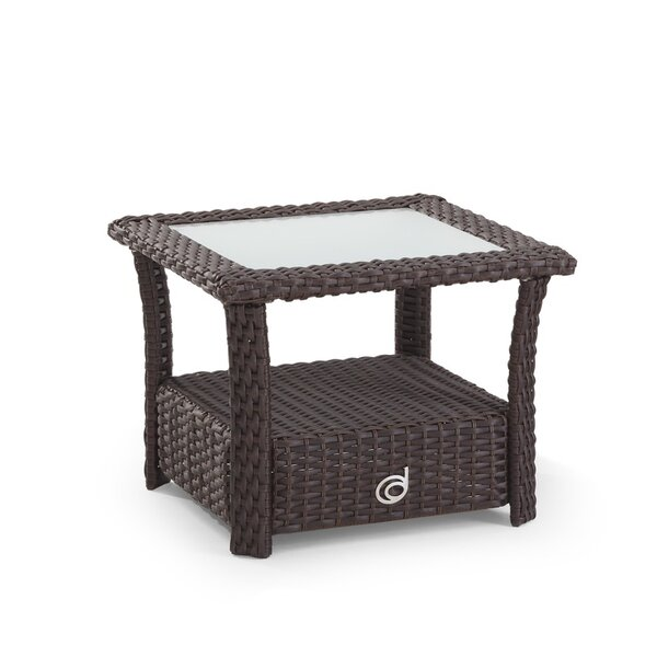Farrar Glass Side Table by Darby Home Co