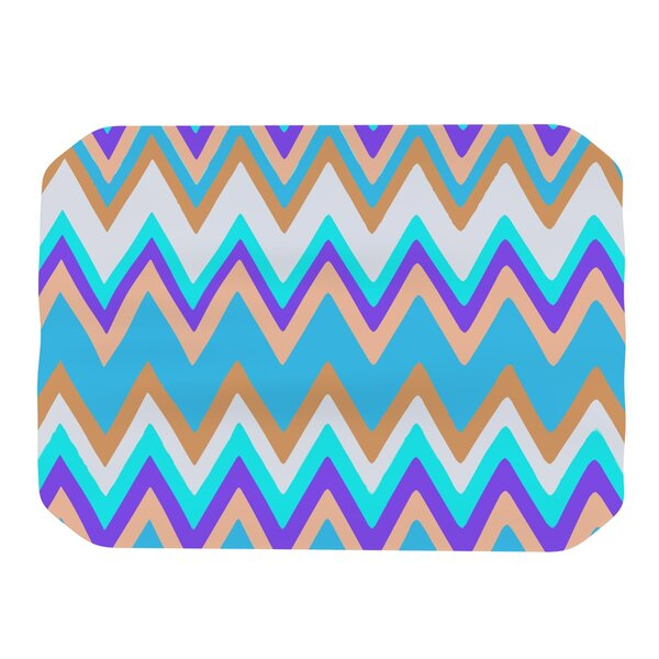 Girly Surf Chevron Placemat by KESS InHouse